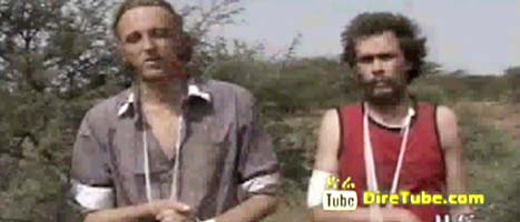 Martin Schibbye och Johan Persson greps i Etiopien. Foto: ETV/Scanpix