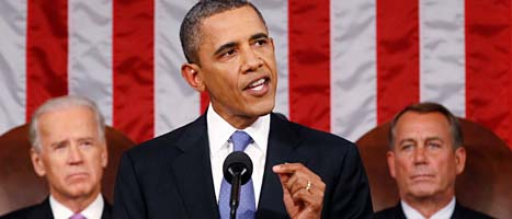 USAs president Obama. Foto: John Boeher/Scanpix
