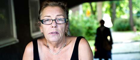 Anne Skånér blev arg när ministern sade att fosterhemsbarn inte kunde få några pengar. Foto: Gunnar Lundmark/Scanpix