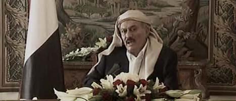 Jemens president Ali Abdullah Saleh. Foto: AP/Scanpix