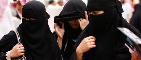 Kvinnor i Saudiarabien ska få rätt att rösta i val. Foto: Hassan Ammar/Scanpix