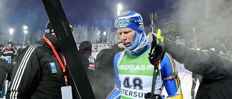 Mattas Nilsson måste lägga av med sin sport. Foto: Anders Wiklund/Scanpix