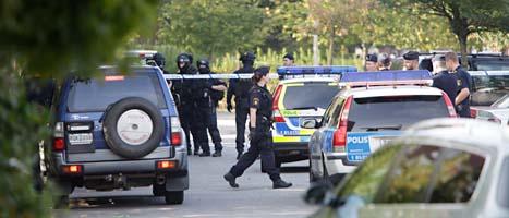 En polis sköt en man i benet i ett bråk i Rosengård. Foto: Stig-Åke Jönsson/Scanpix