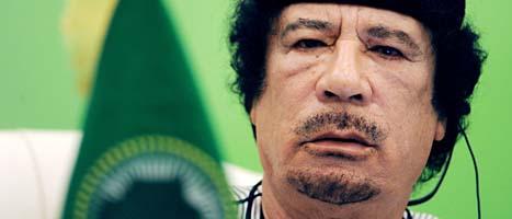 Muammar Gaddafi. Foto: Scanpix