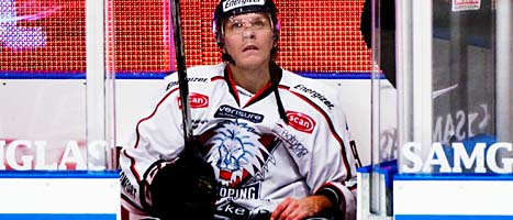 Han är Elitseriens fulaste spelare. Foto: Maja Suslin/Scanpix
