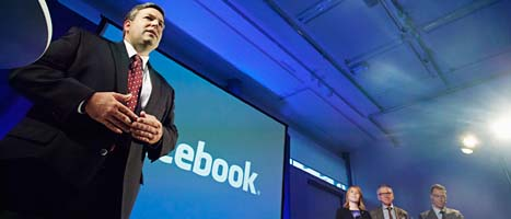 Facebook satsar i Luleå i norra Sverige. Foto: Scanpix