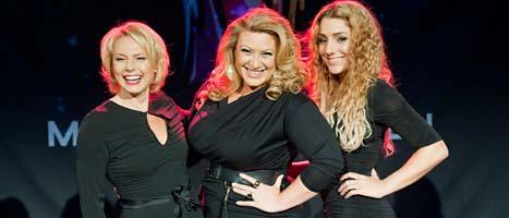Helena Bergström, Sarah Dawn Finer och Ana Gina leder Melodifestivalen.