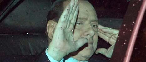 Silvio Berlusconi ska sluta. Foto: Roberto Monaldo/Scanpix