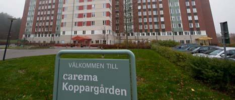 Carema får inte längre sköta hemmet Koppargården. Foto: Bertil Ericson/Scanpix