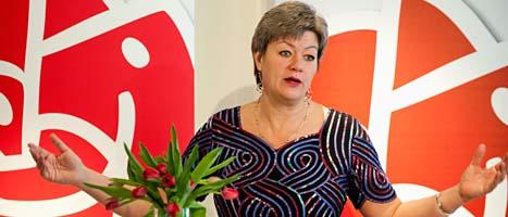 Socialdemokraten Ylva Johansson har både lön och pension. Foto: Scanpix