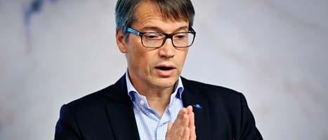 Göran Hägglund kan troligen fortsätta leda Kristdemokraterna. Foto: Anders Wiklund/Scanpix