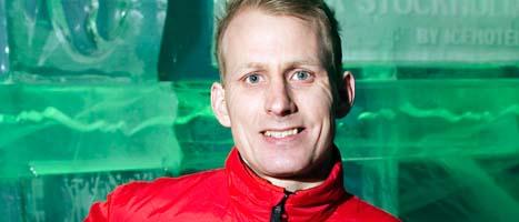 Racingstjärnan Richard Göransson byter bilsport. FOTO: Fredrik Sandberg/SCANPIX