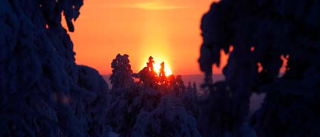 Solen kommer att synas mer från och med i dag. FOTO: Håkon Mosvold Larsen/SCANPIX