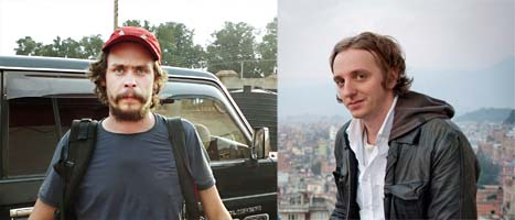 Journalisterna Johan Persson och Martin Schibbye döms för terrorbrott i Etiopien. Foton: Scanpix