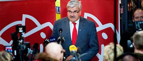 Håkan Juholt tvingades i helgen sluta som ledare för Socialdemokraterna. Foto: Jessica Gow/Scanpix