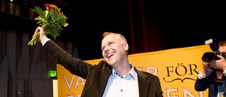 Jonas Sjöstedt. Foto: Fredrik Sandberg/Scanpix