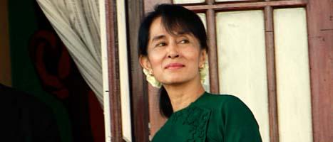 Aung San Suu Kyi. FOTO: Khin Maung Win/SCANPIX
