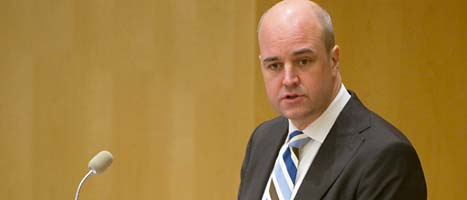 Statsminister Fredrik Reinfeldt säger att det inte finns pengar till en ny skattesänkning för alla som jobbar. Foto: Fredrik Sandberg/SCANPIX