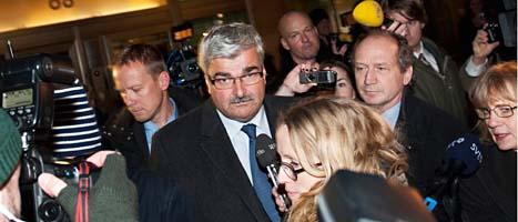 Håkan Juholt är fortfarande ledare för Socialdemokraterna. Foto: Jans Lestrade/Scanpix