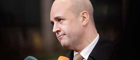 Statsminster Fredrik Reinfeldt. Foto: Frank Augstein/Scanpix