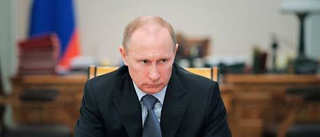 Rysslands premiärminister Vladimir Putin. Foto: Alexei Druzhinin/Scanpix