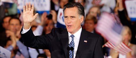 Mitt Romney vann igen. Foto: Gerald Herbert/Scanpix