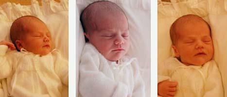 De första bilderna på prinsessan Estelle Silvia Ewa Mary. Foto: Kungahuset.se