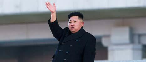 Kim Jong Un är Nordkoreas ledare. Foto: David Guttenfelder/Scanpix