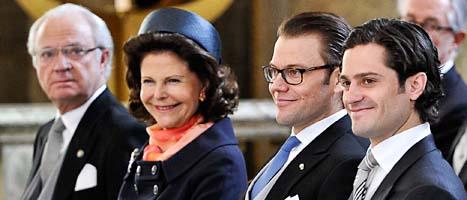 Kungen begär mer pengar till sig, sin familj och alla slotten. Foto: Anders Wiklund/Scanpix