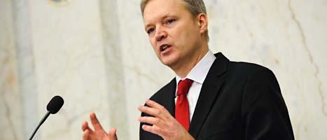 Försvarsminister Sten Tolgfors. Foto: Henrik Montgomery/Scanpix