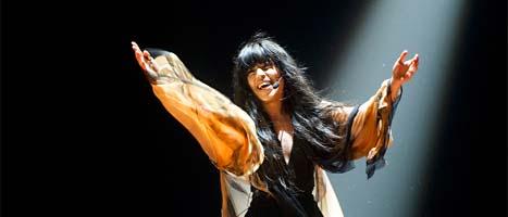 Loreen vann Melodifestivalen. Hon fick rekordmånga röster. Foto: Fredrik Sandberg/Scanpix