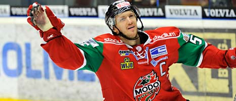 Modo vann mot Linköping. Foto: Håkan Nordström/Scanpix