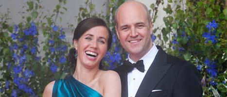 Paret Reinfeldt ska inte bo tillsammans längre. Foto: Leif R Jansson/Scanpix