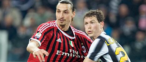 Zlatan blev hjälte igen. Foto: Massimo Pinca/Scanpix
