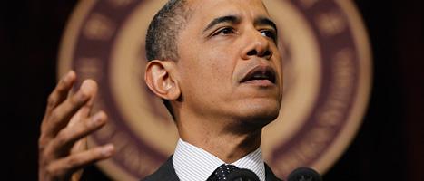 USAs president Barack Obama. Foto: Pablo Martinez Monsivais/Scanpix