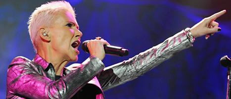 Marie Fredriksson är på turne med Roxette. Foto:Walter Bieri/Scanpix
