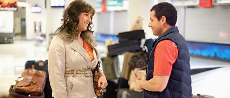 Adam Sandler spelade både Jill och Jack i sin film. Foto: Sony/Scanpix