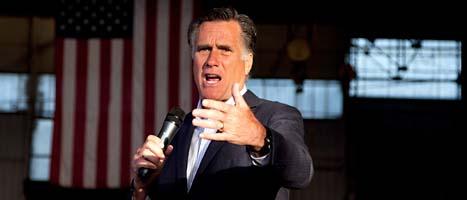 Mitt Romney. Fpto: Evan Vucci/Scanpix