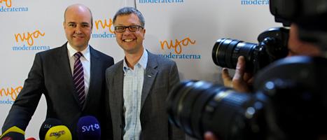 Kent Persson är Moderaternas nya partisekreterare. Foto: Henrik Montgomery/Scanpix