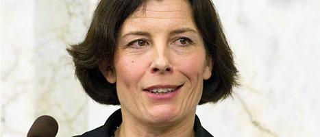 Karin Enström är Sveriges nya försvarsminister. Foto: Maja Suslin/Scanpix