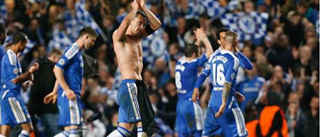 Chelsea vann mot Barcelona. Foto: Matt Durham/Scanpix