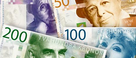 Så här ser de nya pengarna ut. Foto: Scanpix