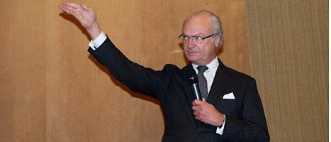 Färre svenskar litar på Kungen och kungahuset. Foto: Fredrik Sandberg/Scanpix
