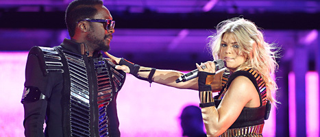 Black Eyed Peas är ett av banden som spelar i Göteborg i sommar. Foto: Donald Traill/Scanpix
