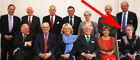 Pensionären Margareta Winberg blev bjuden på middag av regeringen. Foto: Marianne Andersson/Regeringskansliet