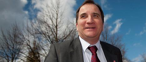 Stefan Löfven är ledare för Socialdemokraterna. Foto: Björn Lindgren/Scanpix