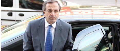Antonis Samaras kunde inte bilda någon ny regering i Grekland. Foto: Thanassis Savrakis/Scanpix