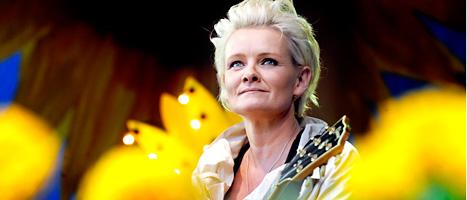 Eva Dahlgren är med i styrelsen för popmuseet. Foto: Tomas Oneborg/Scanpix.