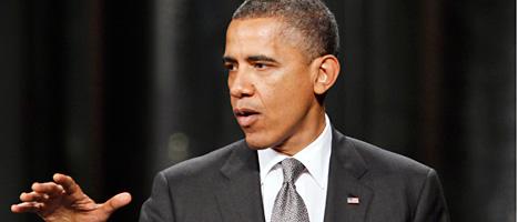 Barack Obama är USAs president. Foto: Scanpix