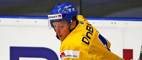Patric Hörnqvist förstärker Tre Kronor i årets VM. FOTO: Mikael Fritzon/SCANPIX